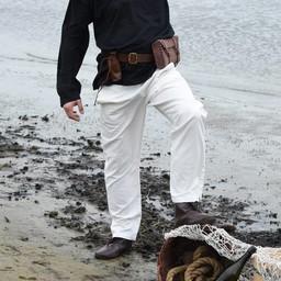 Trousers Francesco, natural