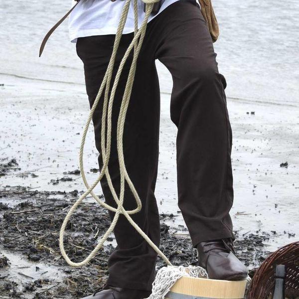 Pantaloni Francesco, marrone