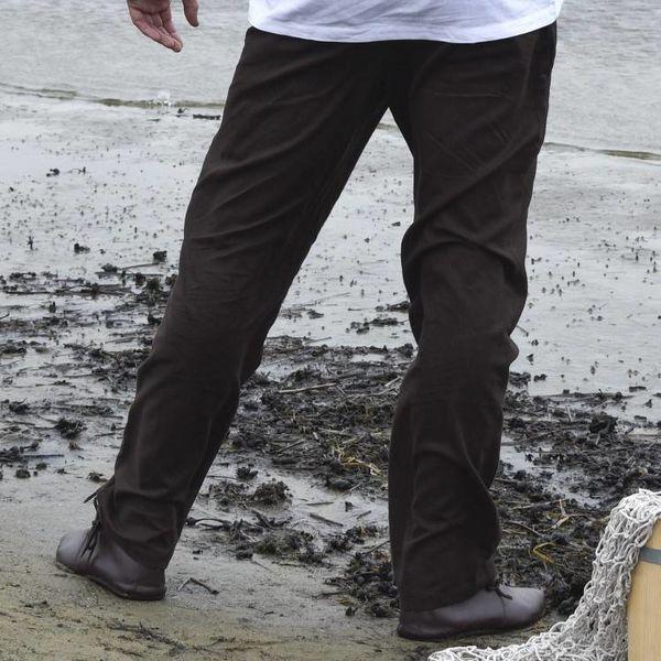 Spodnie Francesco, brązowe