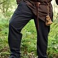 Pantalon Francesco, noir