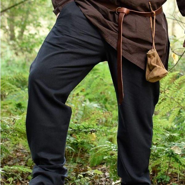 Pantaloni Francesco, nero