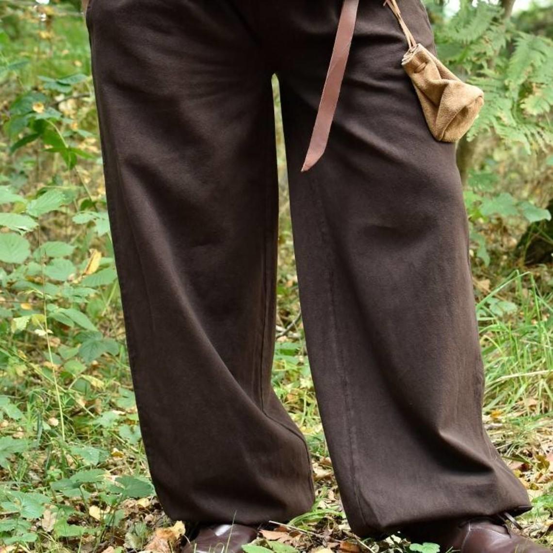 Pantaloni Roger, marrone