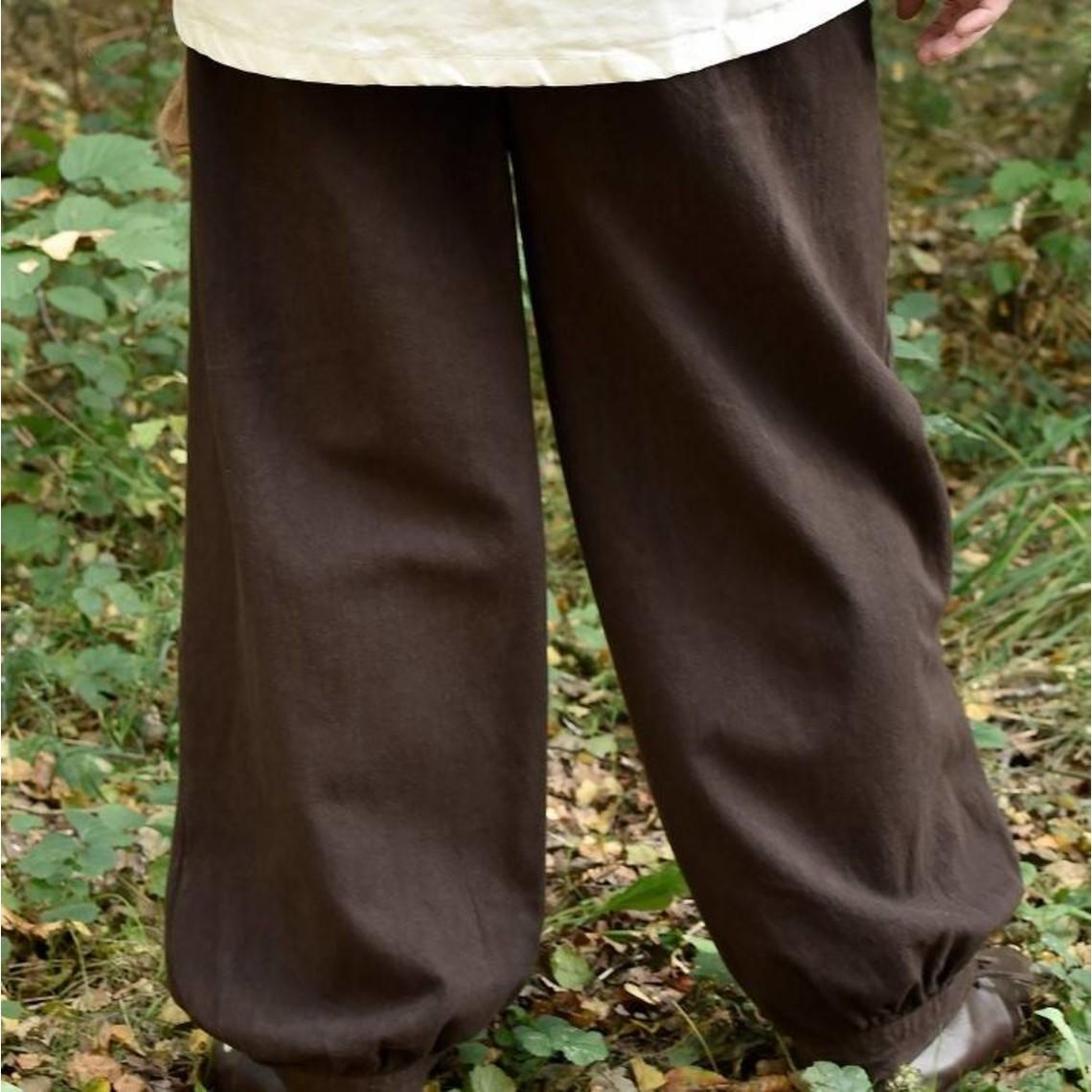 Roger spodnie, brązowe