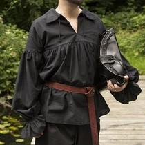 Epic Armoury Piratenhemd Jack, zwart