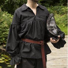 Epic Armoury Camicia pirata Jack, nera