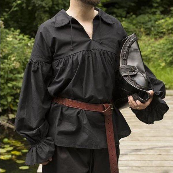 Epic Armoury Pirate shirt Jack, svart