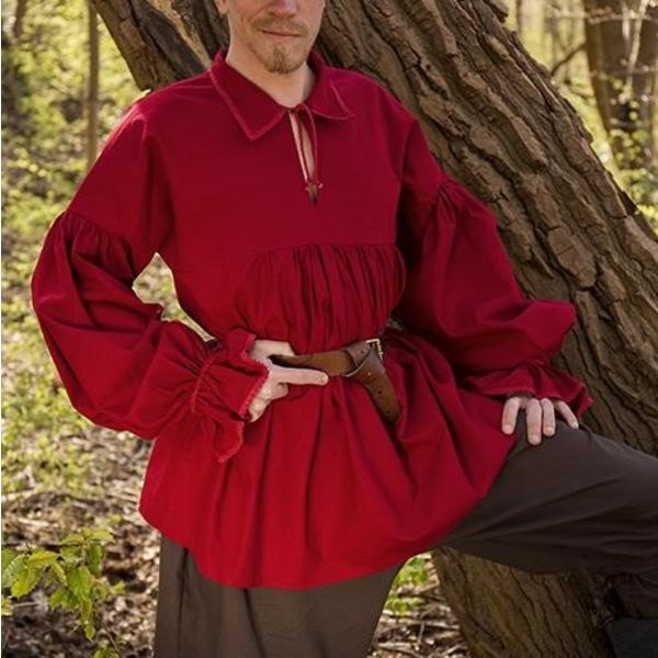 Epic Armoury Pirate shirt Jack, red