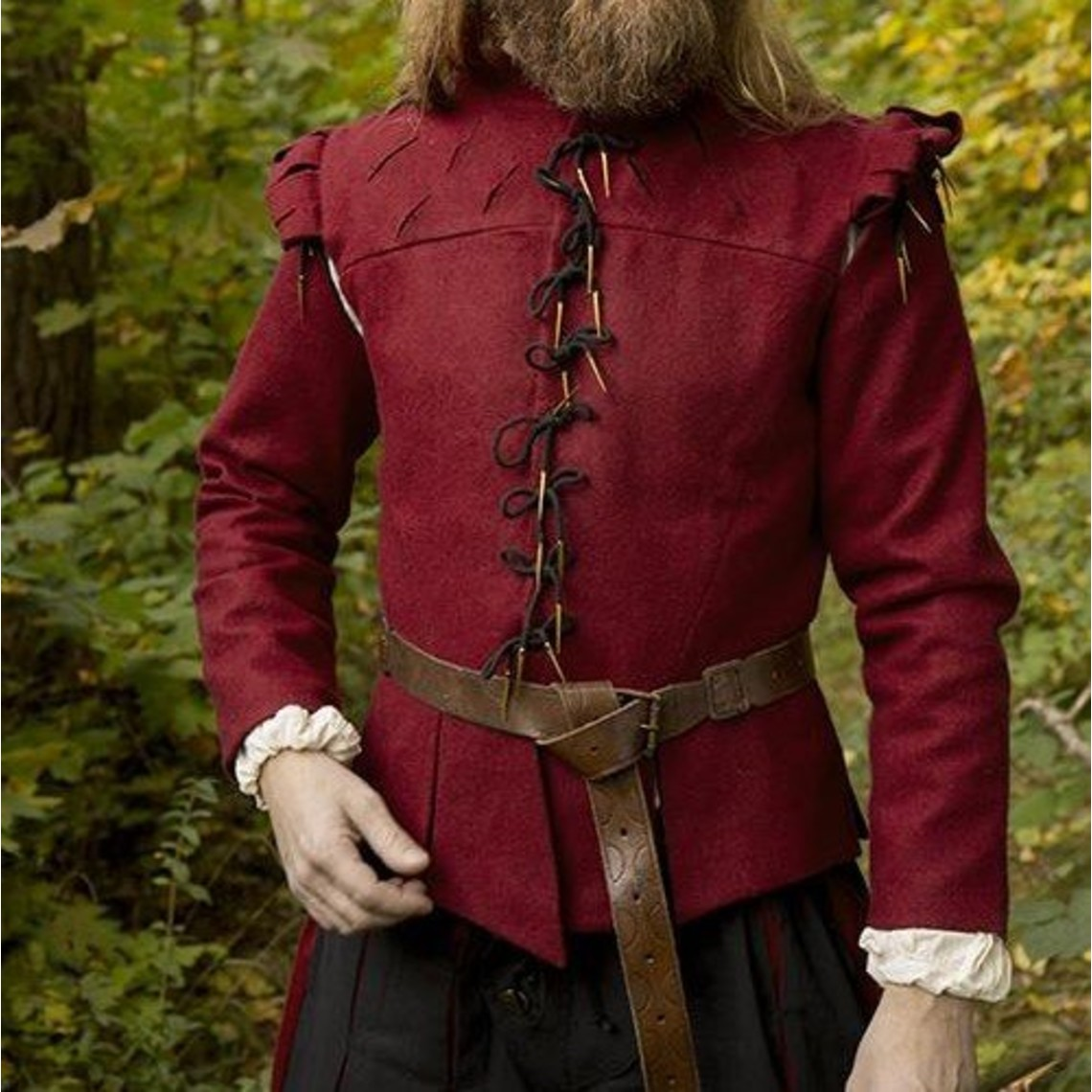 Epic Armoury Doublet Columbus, rot