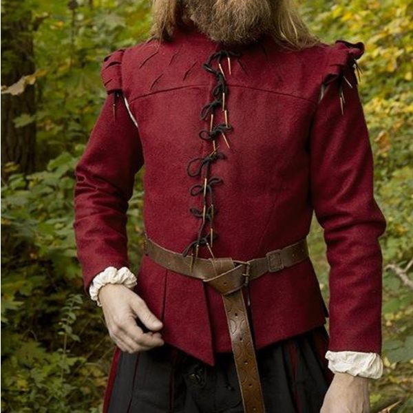 Epic Armoury Doublet Columbus, rosso
