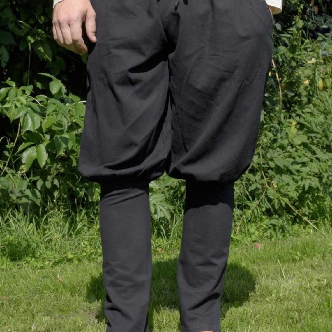 Pantalón vikingo floki, negro