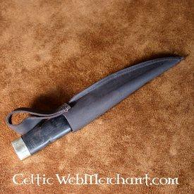 Deepeeka Sgian dubh (poignard écossais), noir