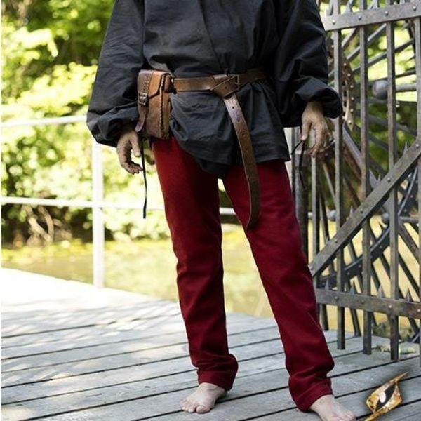 Epic Armoury 14-ta-15 wieku Chausse, za sztukę, ciemnoczerwony