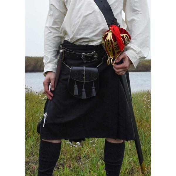 Skotsk kilt, svart