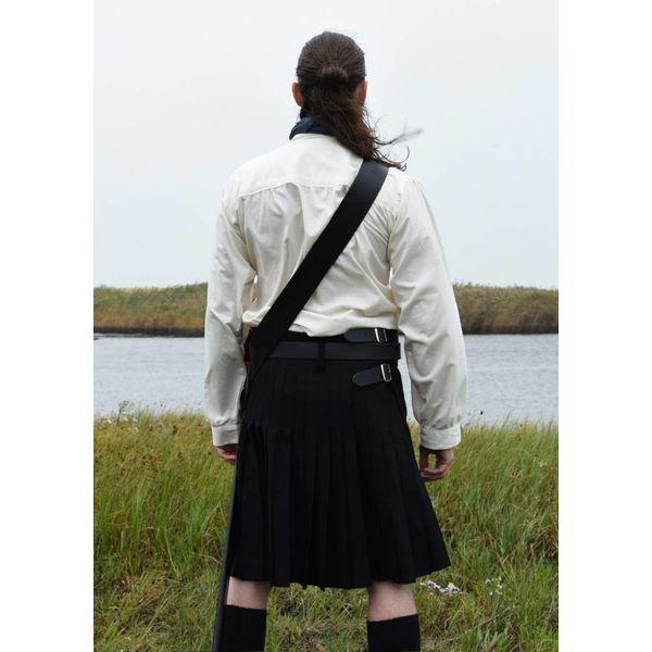 Skotsk kilt, sort