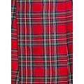 Falda escocesa, rojo-verde