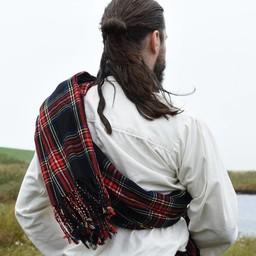 Scottish plaid tartan, Black Stewart