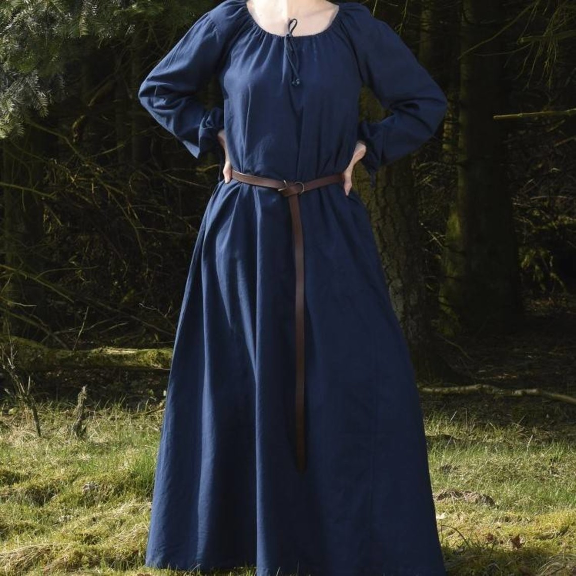 Spostamento medievale Matilda, blu