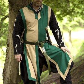 Epic Armoury Tabardo Geoffrey, bege-verde
