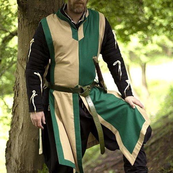 Epic Armoury Tabard Geoffrey, beige-vert