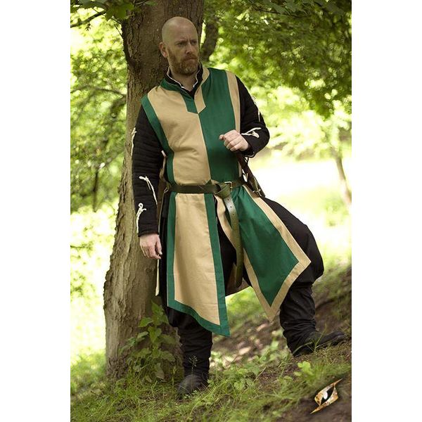 Epic Armoury Tabard Geoffrey, beige-grøn