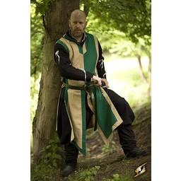 Kamizelka Geoffrey beżowo-zielony