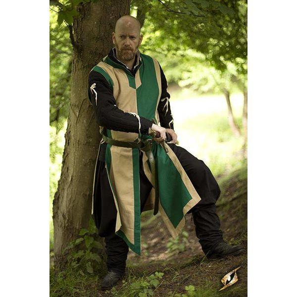 Epic Armoury Wapenrok Geoffrey, beige-groen