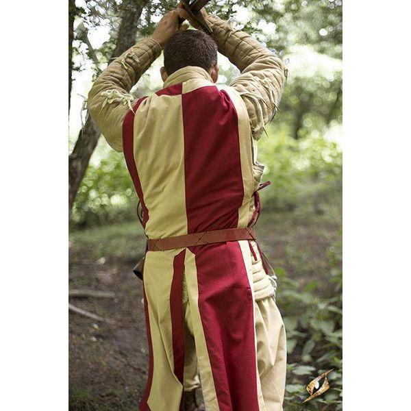 Epic Armoury Tabard Geoffrey, beige-rouge