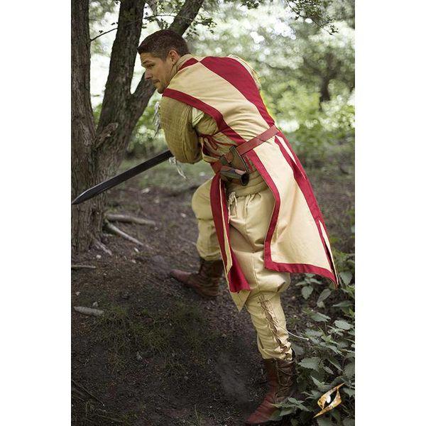 Epic Armoury Tabard Geoffrey, beige röda