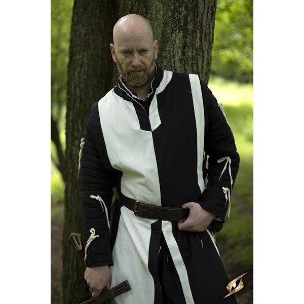 Epic Armoury Tabard Geoffrey, sort-hvid