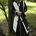 Epic Armoury Tabard Geoffrey, nero-bianco