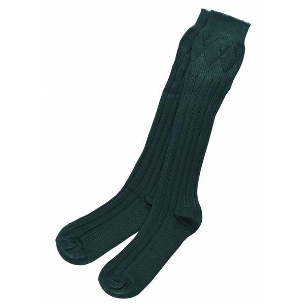 Sokker til kilt, mørkegrøn