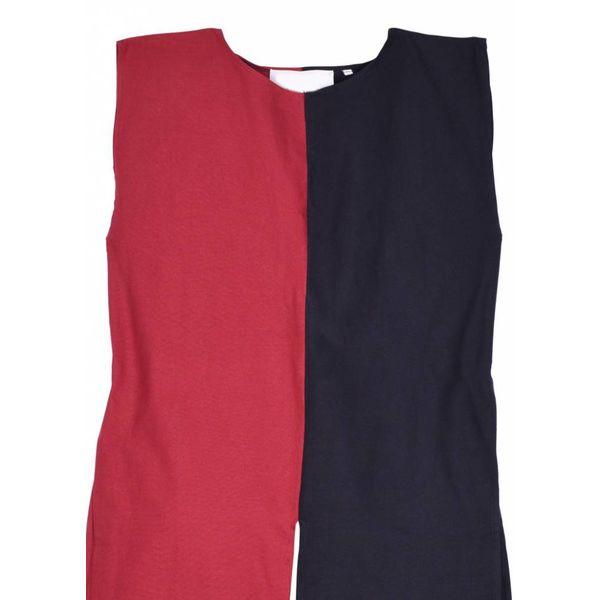 Średniowieczny płaszcz Rodrick, czarno-czerwony
