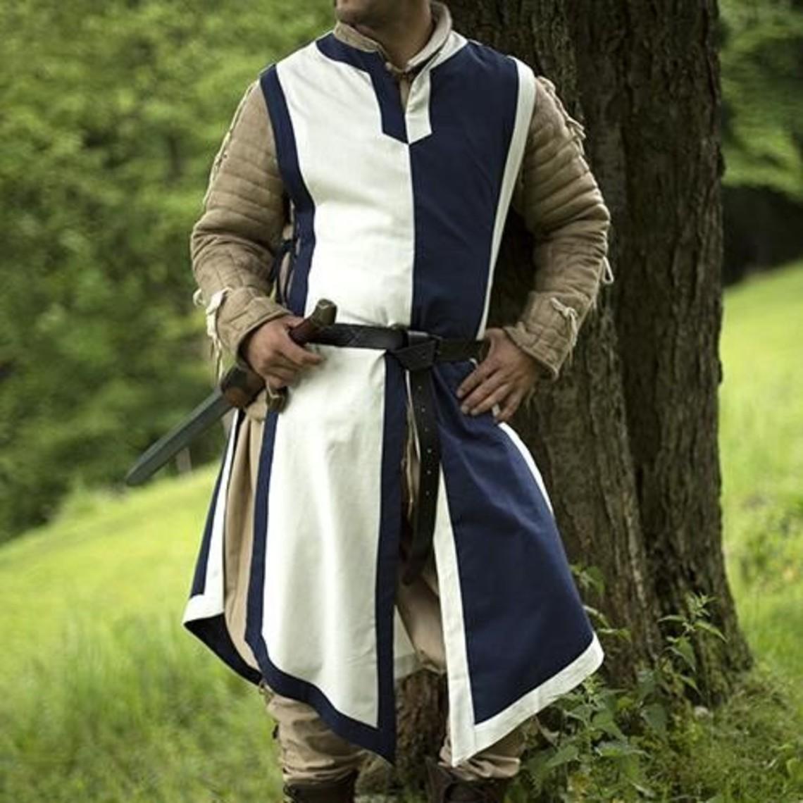 Epic Armoury Tabard Geoffrey, blanc-bleu
