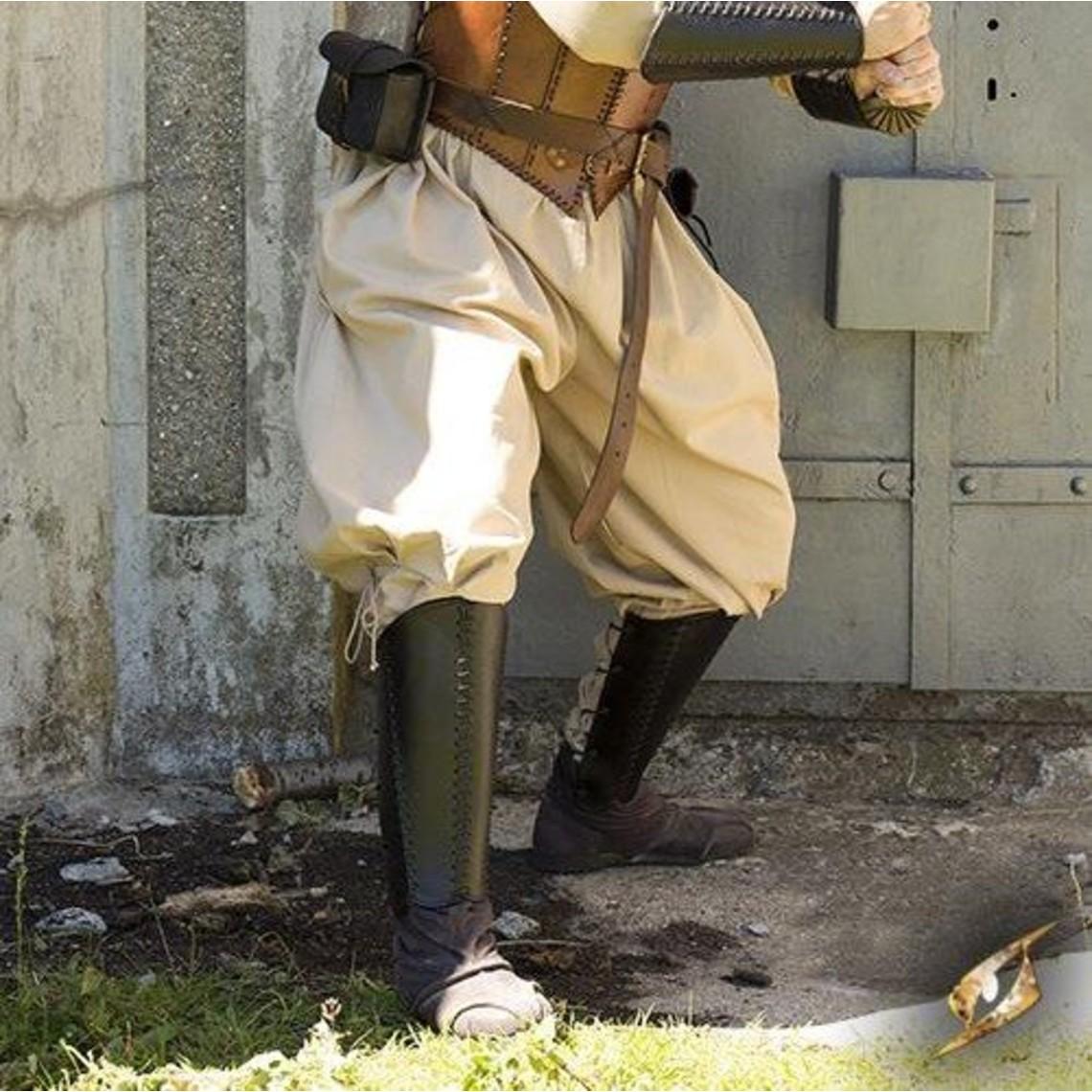 Epic Armoury Pantalón vikingo Rollo, beige