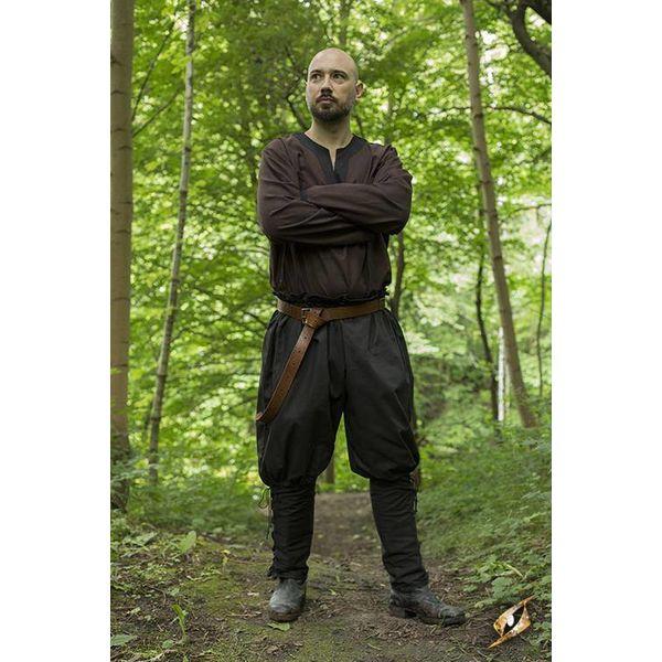 Epic Armoury Viking spodnie Rollo, czarny