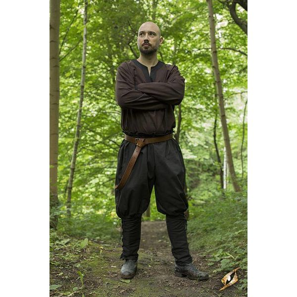 Epic Armoury Vikingbroek Rollo, zwart