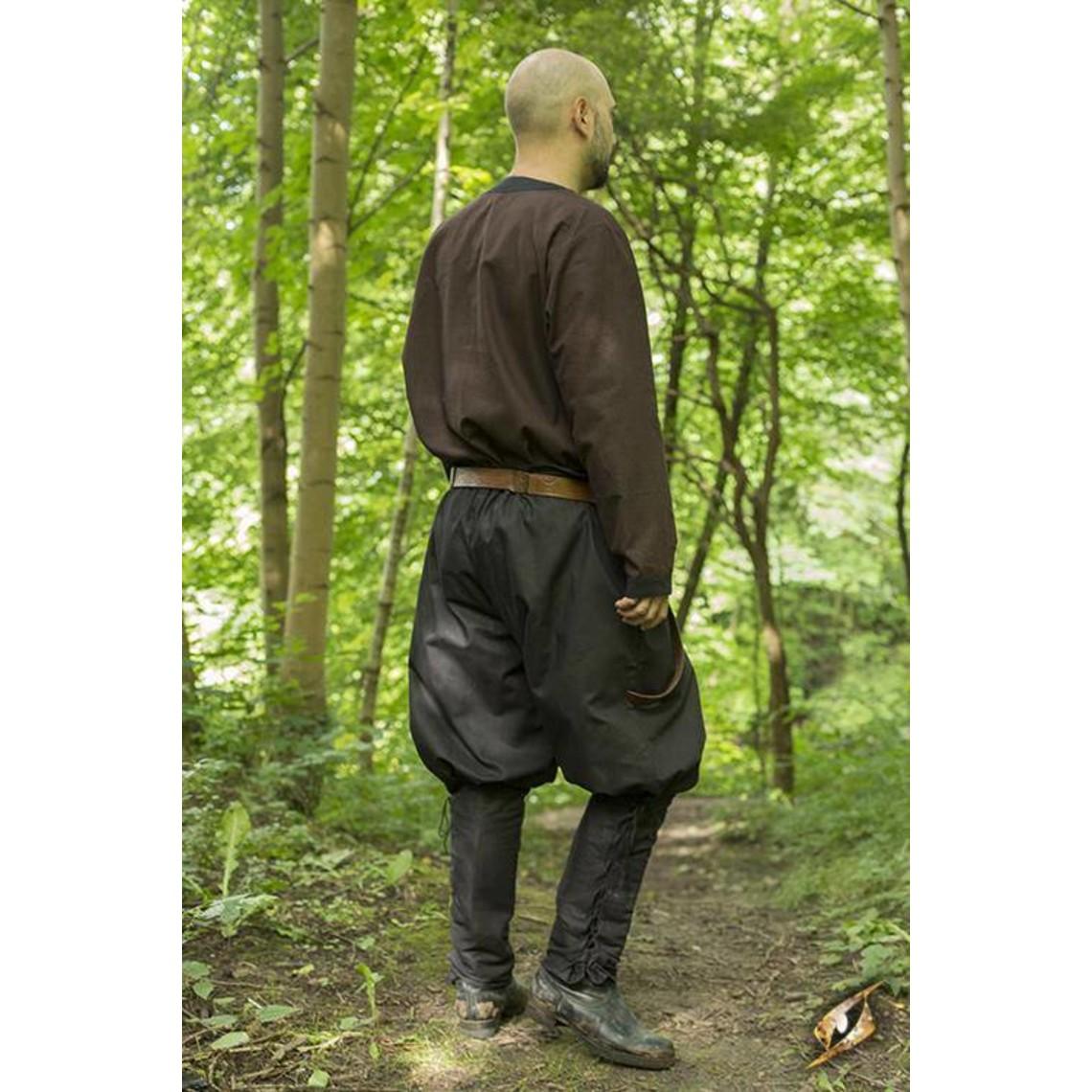 Epic Armoury Spodnie wikingów Rollo, czarne