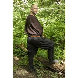 Pantaloni vichinghi Rollo, neri