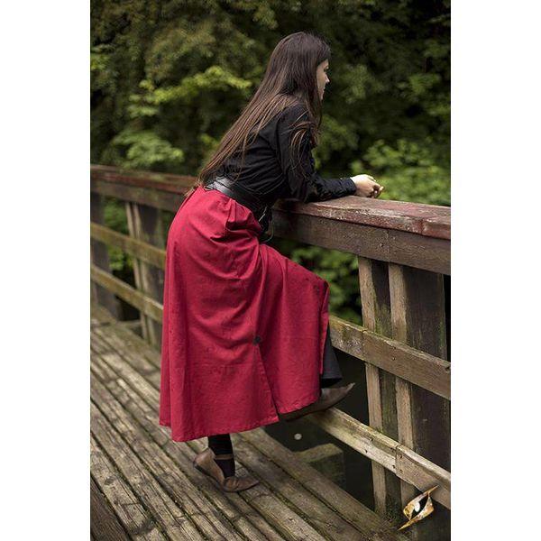 Epic Armoury Slaget kjol, röd