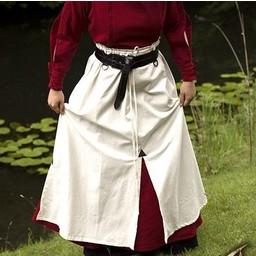 Bitwa spódnica, biała