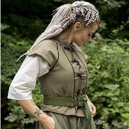 English Civil War dublet zielony