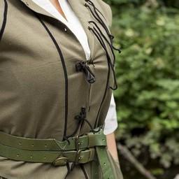 English Civil War doublet green