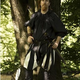 Landsknecht trousers black-white