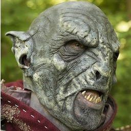 Orc mask blue