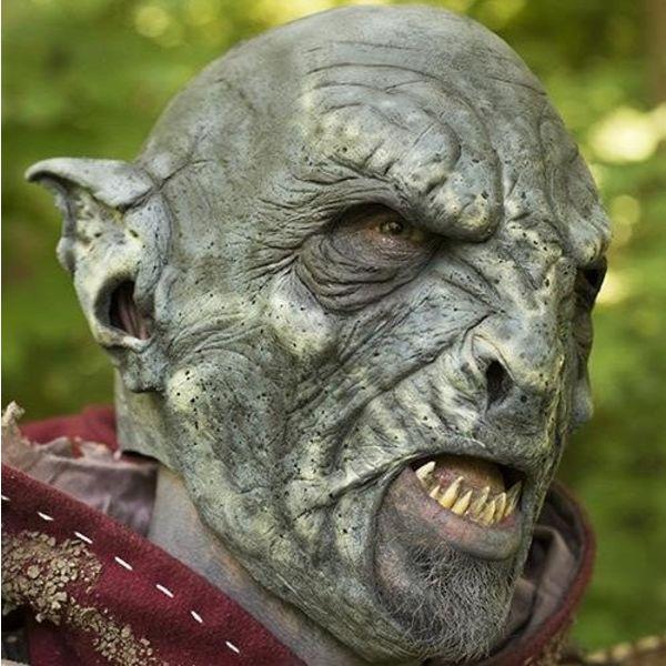 Epic Armoury Orc maske blå