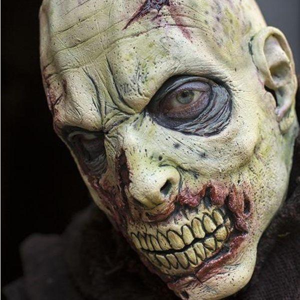 Epic Armoury Zombie maske med ar