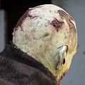 Epic Armoury máscara zombi con cicatrices