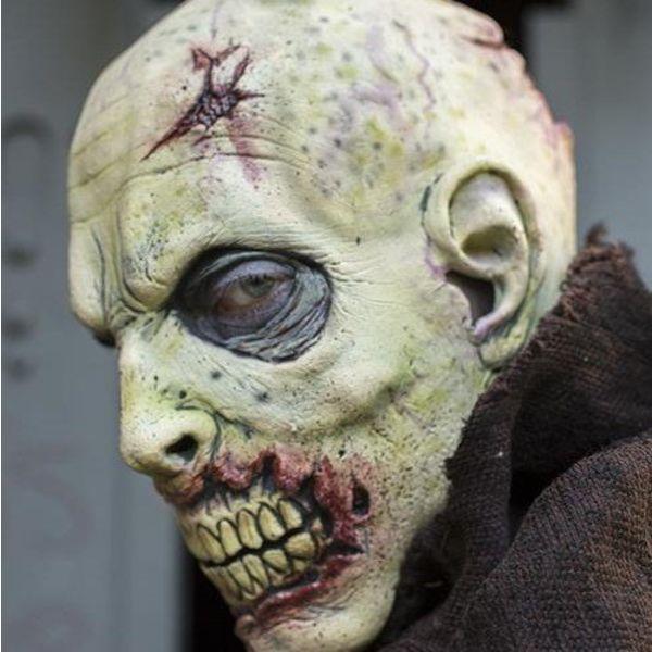 Epic Armoury Zombiemasker met littekens