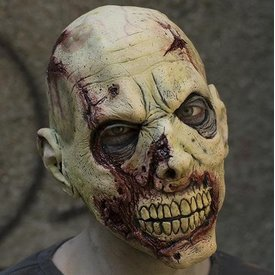 Epic Armoury Zombie mask with scars