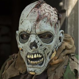 Epic Armoury Maschera di zombie grigio